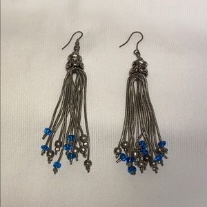 VTG Metal Tassel Earrings